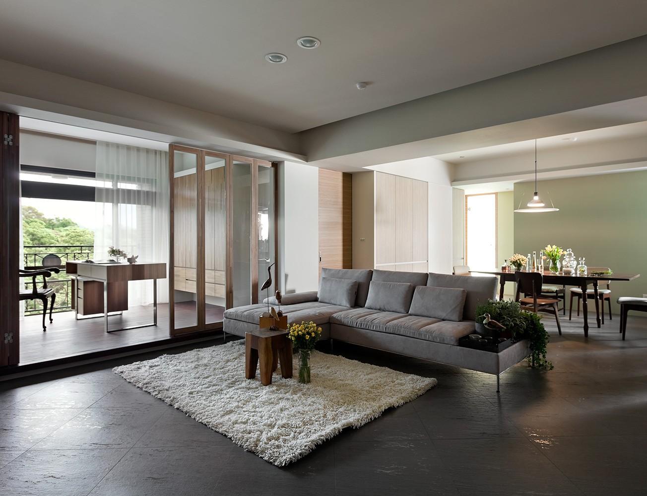 3室2卫1厅110平米简约风格