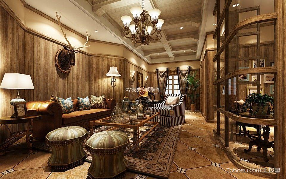 香树湾别墅美式风格效果图