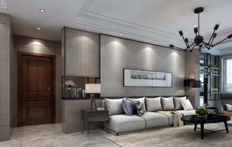 新天地现代风格客厅装修效果图