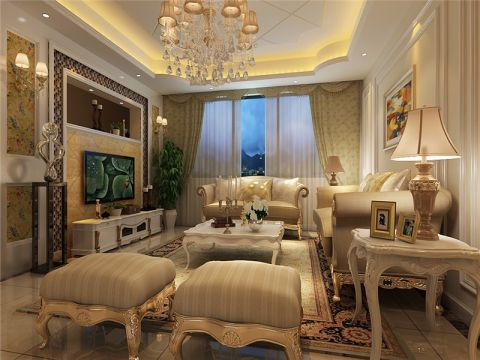 2021简欧120平米装修效果图片 2021简欧三居室装修设计图片