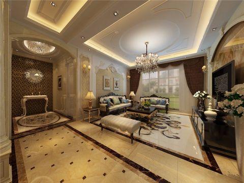 2021现代120平米装修效果图片 2021现代三居室装修设计图片