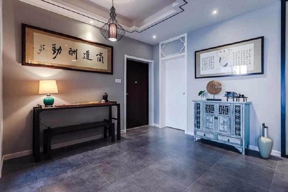 3室2卫2厅124平米混搭风格