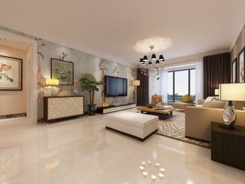 2019现代繁复120平米北京pk10开奖视频片 2019现代繁复三居室装修设计图片