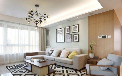 2019新中式120平米北京pk10开奖视频片 2019新中式三居室装修设计图片