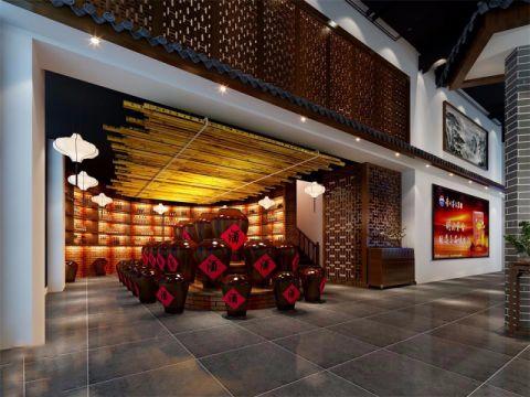 赤水酱香汇展厅工装装修效果图