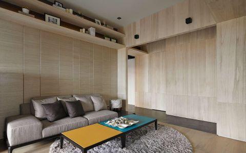 2019现代繁复110平米装修图片 2019现代繁复二居室装修设计