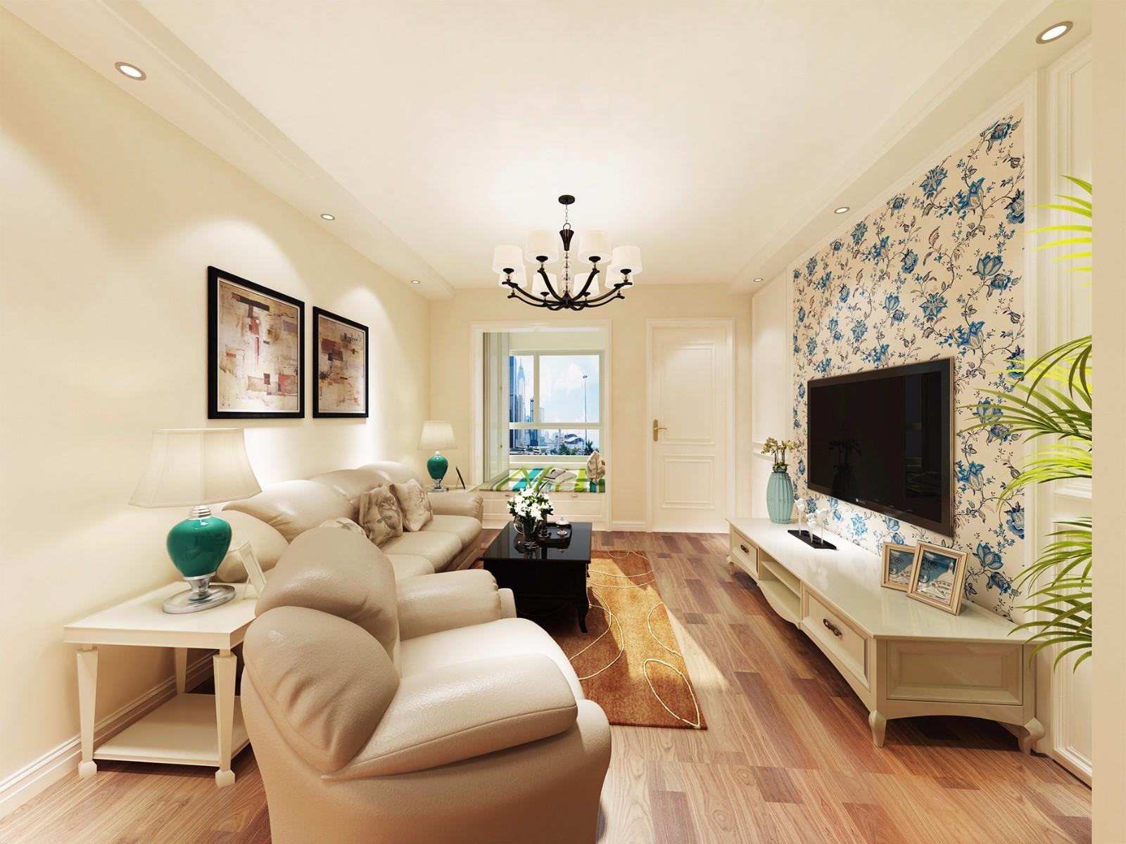 2室1卫1厅70平米简欧风格
