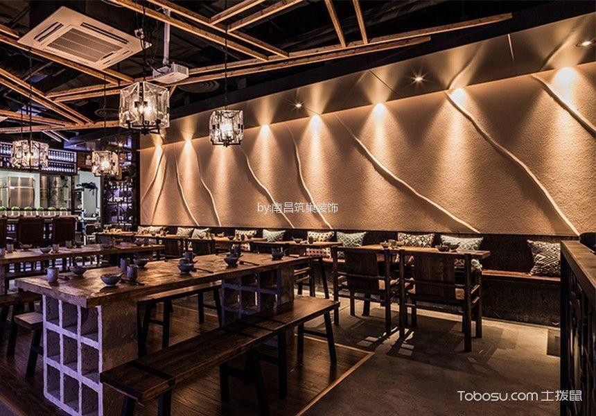 现代简约风格餐厅用餐区餐桌装潢设计图片