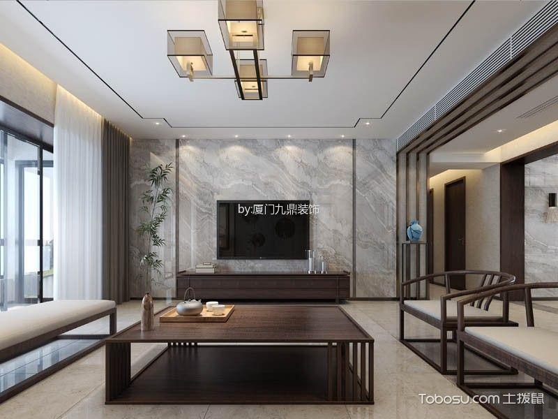 新景七星公馆新中式风格装修效果图