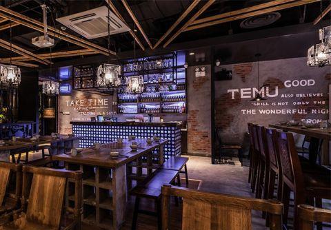 现代简约风格餐厅工装装修效果图