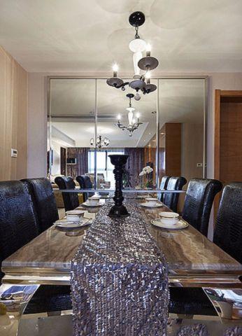 美的翰城新古典风格二居室装修效果图