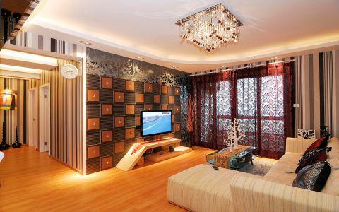 2018现代110平米装修图片 2018现代三居室装修设计图片