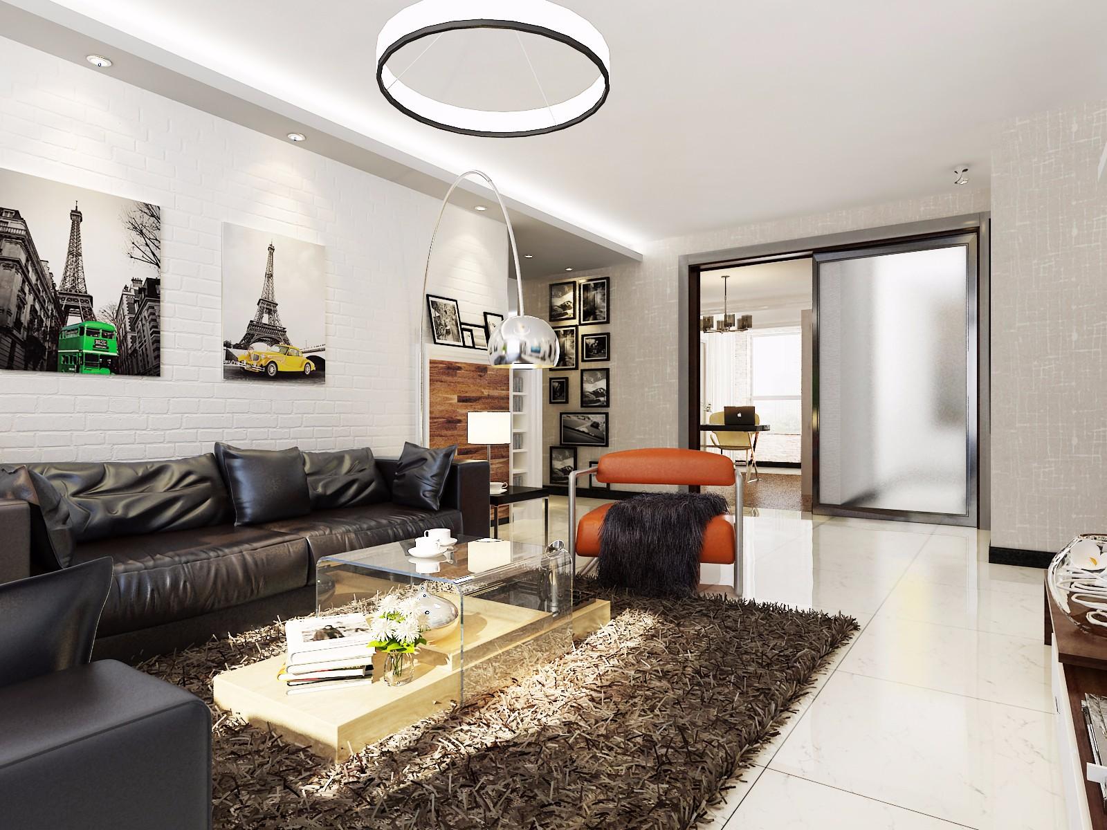 4室2卫1厅120平米欧式风格