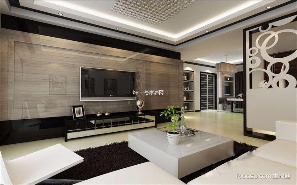 郑州九龙城113平三室两厅案例效果图