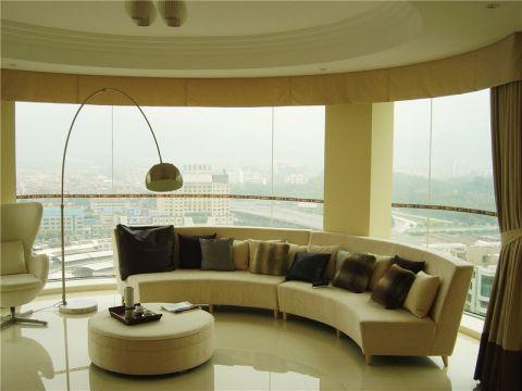 世茂香槟湖100平现代风格实景图
