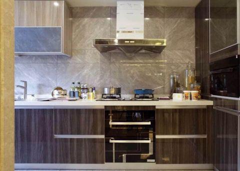 厨房混搭风格装修图片