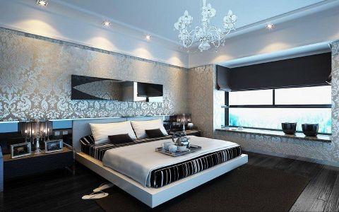 瑞江花园三居室现代风格效果图