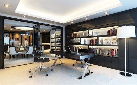 书房吊顶现代风格装修效果图