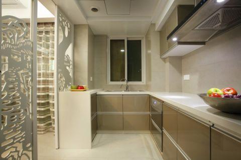厨房隔断简约风格装饰效果图