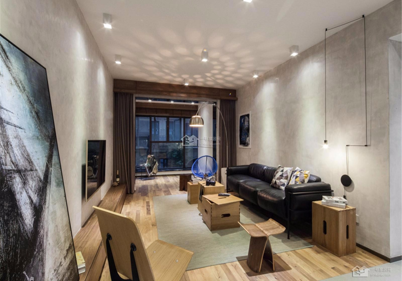 3室1卫2厅139平米现代简约风格