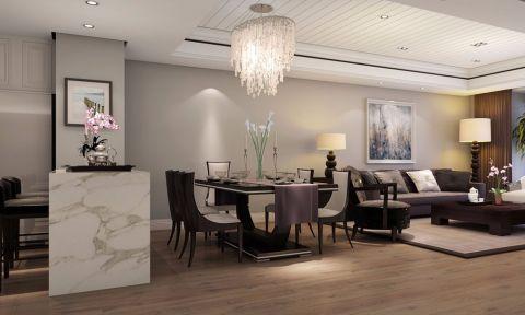 2021中式120平米装修效果图片 2021中式套房设计图片