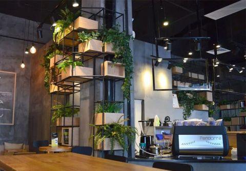 现代风格咖啡厅工装装修效果图