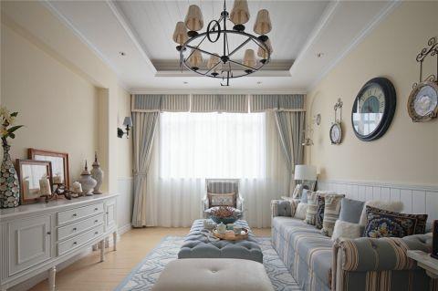 2019地中海120平米装修效果图片 2019地中海三居室装修设计图片