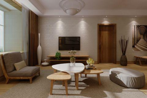 合铁家园精美三居室效果图
