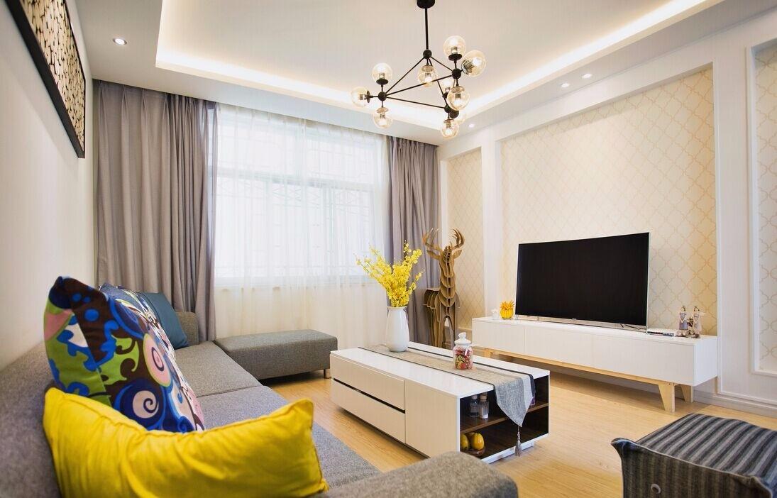 3室1卫1厅100平米简约风格