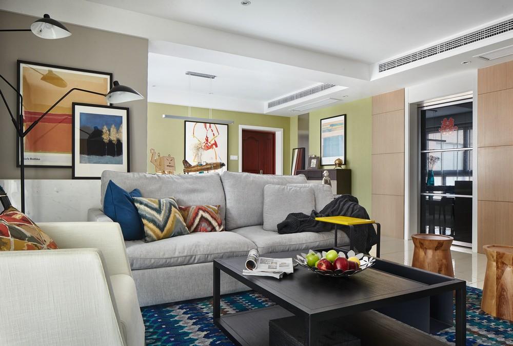 3室2卫2厅120平米简约风格