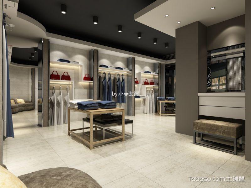 服装店地板砖装饰效果图