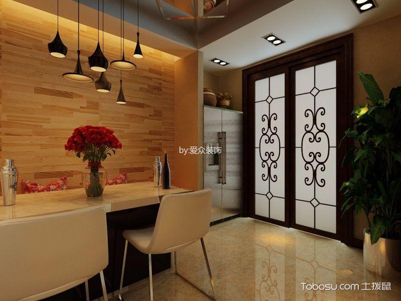 东景苑三居室现代风格家居