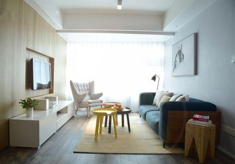 盛世华庭北欧风格三居室效果图