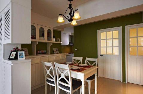 餐厅走廊田园风格装饰设计图片