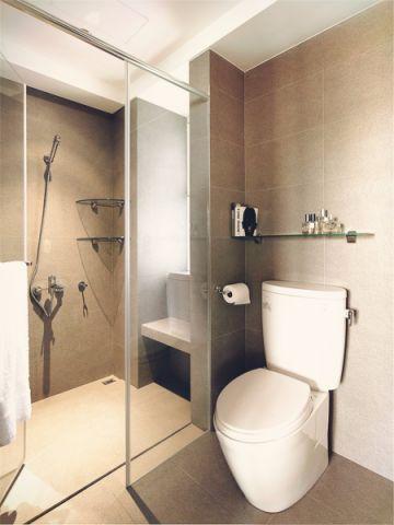 卫生间背景墙经典风格效果图
