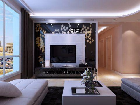 平阳景苑120平米现代风格装修效果图
