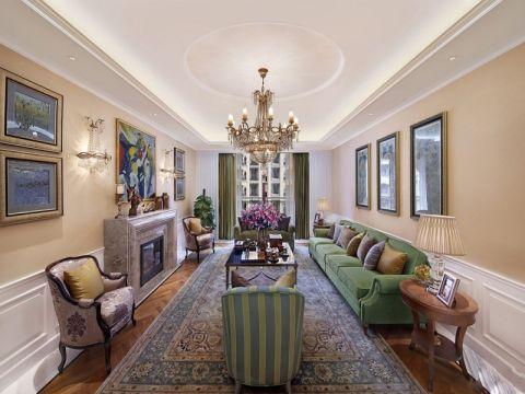 戛纳里城四居室美式风格效果图