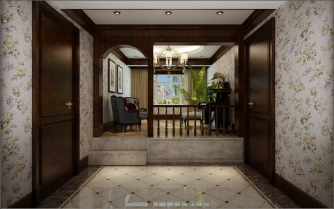 云水世纪明珠二居室现代简约风格效果图