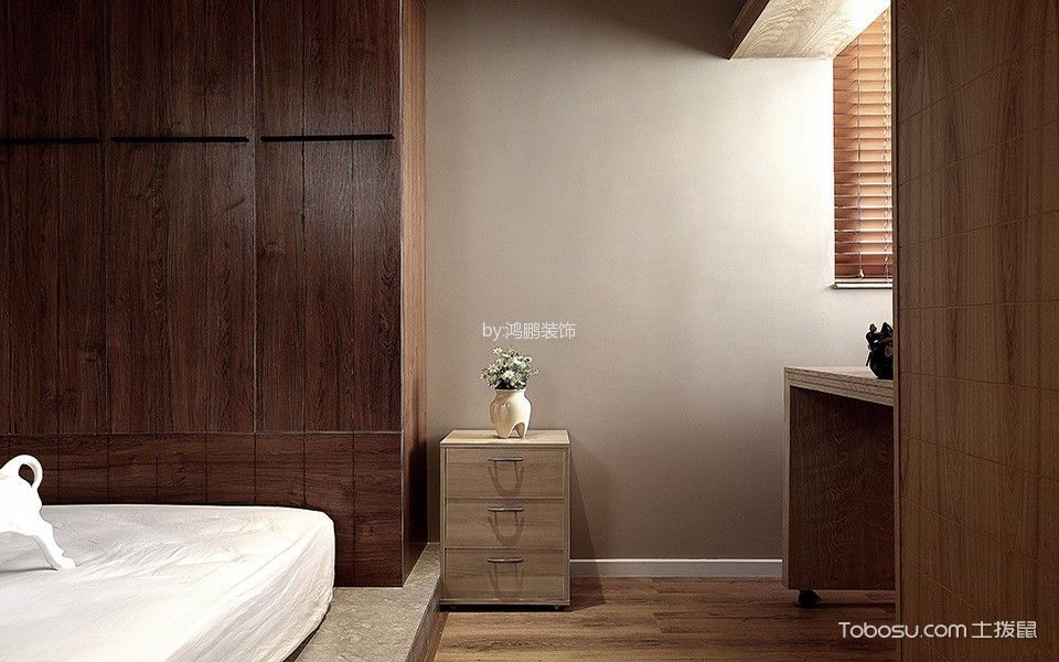 红星海两居室简约风格装修效果图
