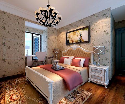 卧室榻榻米田园风格装饰设计图片