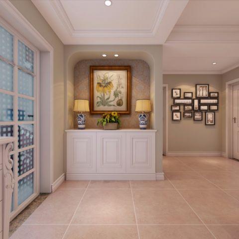 玄关门厅现代欧式风格效果图