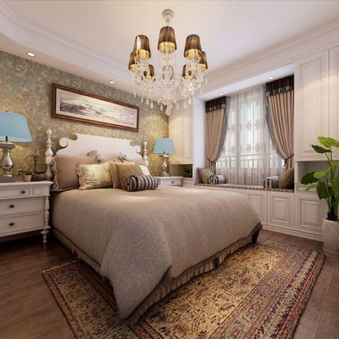 卧室榻榻米现代欧式风格装饰效果图
