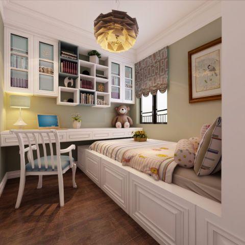 卧室榻榻米现代欧式风格装饰图片