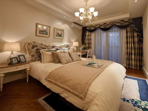 卧室吊顶地中海风格装潢图片
