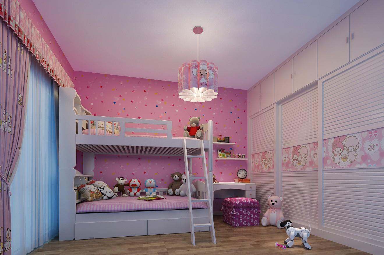 3室2卫2厅100平米简约风格