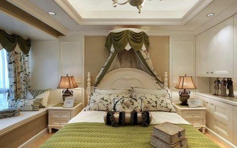 卧室田园风格装潢效果图