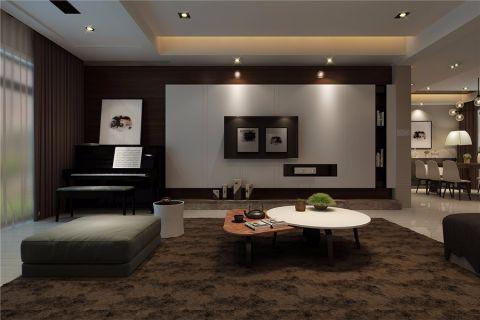 客厅照片墙经典风格装饰设计图片
