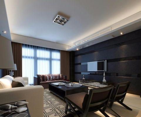 2020现代90平米效果图 2020现代二居室装修设计