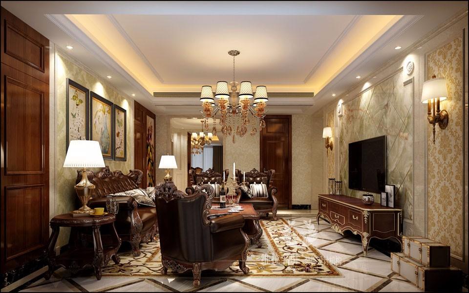 3室2卫2厅190平米欧式风格