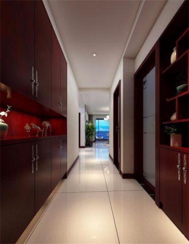 洛阳君河湾白色110平米现代简约三房一厅装修效果图
